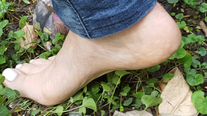 photo of arch of foot
